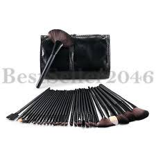 item 2 pro 32pcs synthetic kabuki makeup cosmetics brush set kit with black pouch case pro 32pcs synthetic kabuki makeup cosmetics brush set kit with black