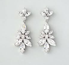 rhinestone chandelier earrings bridal earrings net chandelier bridal chandelier earrings rhinestone chandelier earrings