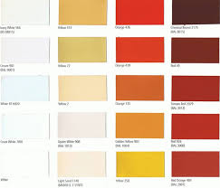 Jotun Ral Chart Sigma Paint Color Cards International Paint Color Cards