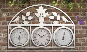 garden clock. Click Image To Enlarge Garden Clock And Weather Station A