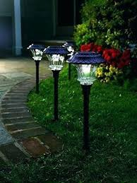 outdoor light costco solar garden lights solar yard lights plow hearth solar path lights with 6