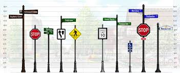 Decorative Sign Posts Gallery Customized Street Signs Traffic Signs Decorative Sign 57
