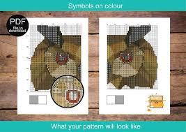 Full Alphabet Font 8 Cross Stitch Pattern