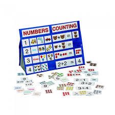 Numbers Counting Tabletop Pocket Chart
