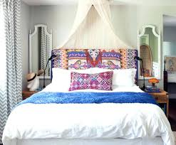 bohemian chic decor bedding bedroom bed wall home