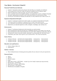 Personal Interests On Resume Examples Examples Of Creative
