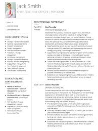 Professional Curriculum Vitae Template Fascinating CV Templates Professional Curriculum Vitae Templates