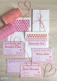 Ideas For Boyfriend Coupons Printable Valentines Day Love Coupons The Elli Blog