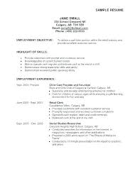 Sample Resume Objective Statements New Resume Objective Job Title In For Objectives Sales Sample Lovely