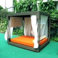 rattan daybed for cabana bed outdoor cabana curtains extraordinary outdoor cabana bed rattan daybed