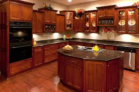 Kitchens With Cherry Cabinets New Kitchen Cabinet Cherry Wonderful Interior Design For Home