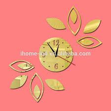 room decor embellishment art acrylic sheet 3d wall clocks with acrylic sheet wall art acrylic
