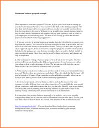 9 Best Images Of Restaurant Business Plan Cover Letter Example In