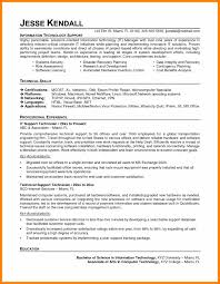 Information Technology Resume Examples Sample Resume Resume