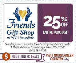 wvu hospitals friends gift