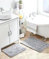 bath rug set love this product silver two piece bath rug set bathroom rug sets at