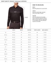Kenneth Cole Slim Fit Dress Shirt Size Chart Nils Stucki