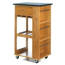 rolling kitchen cart marble top bamboo costco
