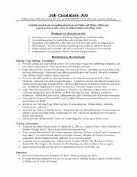 Expeditor Resume Food Expeditor Resume Elegant Editor Resume Sample Shalomhouse 20