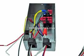 coleman series furnace wiring diagram coleman 18400001 coleman a c control box 4 wire hvacpartstore on coleman 7900 series furnace wiring diagram