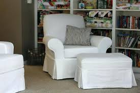 matching chair and ottoman slipcovers ottomans rectangle ottoman slipcover cube large slipcovers um size of chair