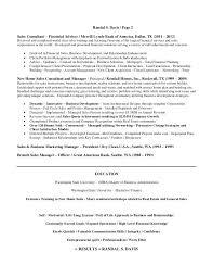sales consultant duties resume 2 financial sales consultant resume