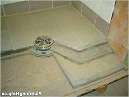 replace shower pan with tile install tile shower install a shower pan shower drain installation tile