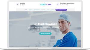 doctor template free download medcare medical website templates free download themefisher