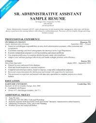 Sample Resume Admin Admin Assistant Resume Samples Thrifdecorblog Com