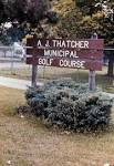 A. J. Thatcher Golf Course - Indy Parks and Rec - The Indianapolis ...