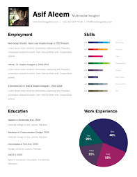 Free One Page Resume Template Stunning One Page Resume Template Freebies Gallery