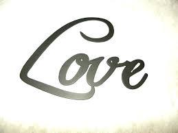 metal words wall decor custom made love word home decor metal wall art thankful word galvanized