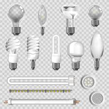Lamps Types 3d Realistic Electric Led Light Bulbs Energy Saving
