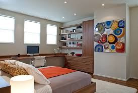 Bedroom Home Office Minimalist Property