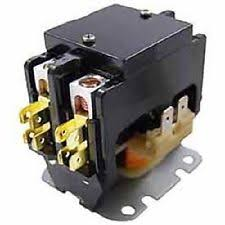 how to wire a definite purpose contactor packard c240c 40 amp 208 240 vac double 2 pole definite purpose contactor hvac