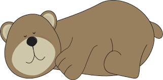 Small Picture Free black bear hibernating clipart collection