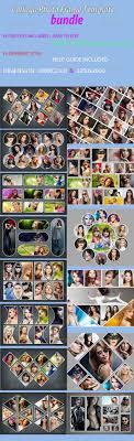 collaga photo frame template bundle photo templates graphics