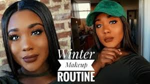 everyday winter makeup routine i make