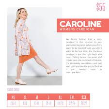 Llr Caroline Size Chart My Favorite New Lularoe Style Is The Lularoe Caroline