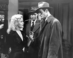 film noir essay film noir s usih org double indemnity film noir  film noir com cleo moore and robert ryan in on dangerous ground