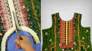 Galy K Design 2018 Simple Designer Neckline Cutting And Stitching Galay Ka Design