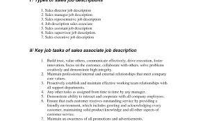 Retail Sales Associate Job Description For Resume Resume Template Astounding Sales Representative Job Description 29