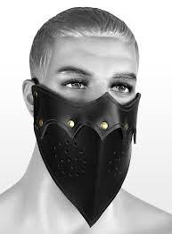 assassin mask black