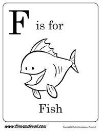 Included in this free printable alphabet coloring pages are 26 alphabet sheets (from a to z) featuring uppercase letters. F Is For Fish Letter F Coloring Page Pdf Preschool Alphabet Printables Alphabet Posters Printable Alphabet Coloring Pages