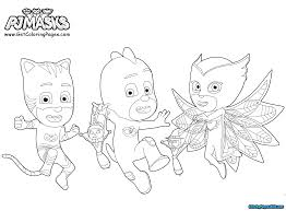 Pj Masks Coloring Pages To Download And Print For Free Birthday