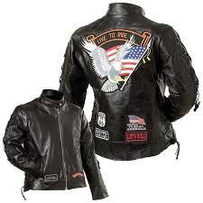las genuine buffalo leather motorcycle jacket