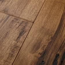 maison 7 engineered hickory hardwood flooring in chagne
