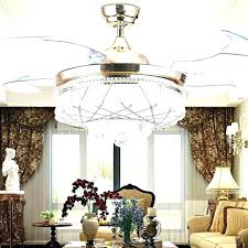 crystal chandelier ceiling fan combo kit light decorating small spaces with color