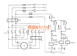 wiring diagram for a 3 phase 2 speed motor the wiring diagram with 3 phase motor connection windings at 3 Phase Motor Wiring Diagrams