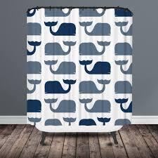 whale shower curtain shark shower curtain